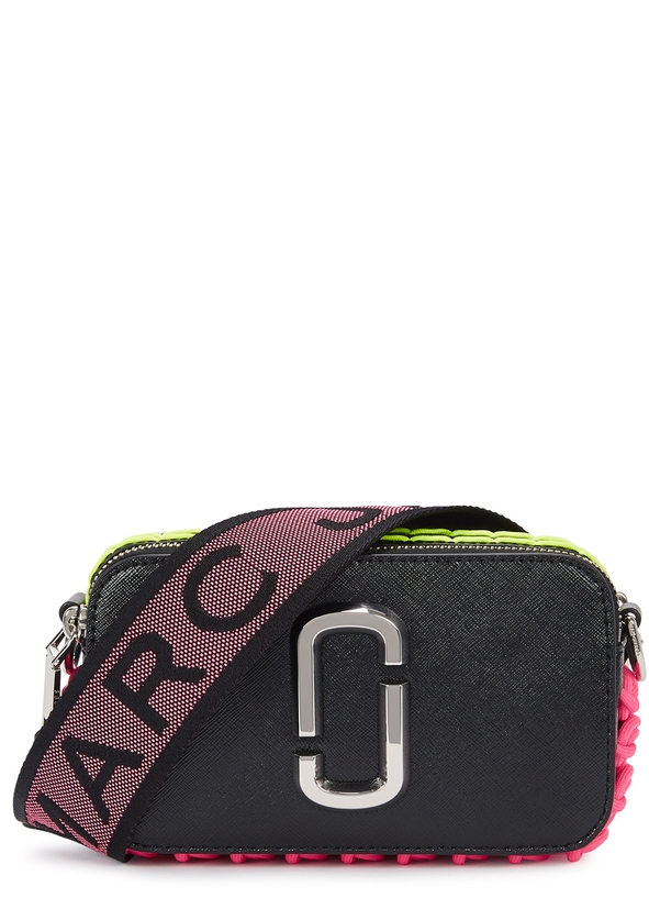 Snapshot Liquéd Leather Shoulder Bag New Season Marc Jacobs