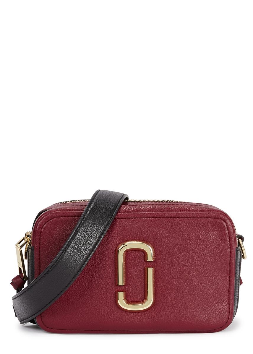 f5889a4a4a63 Softshot 21 burgundy leather shoulder bag Softshot 21 burgundy leather  shoulder bag. Marc Jacobs