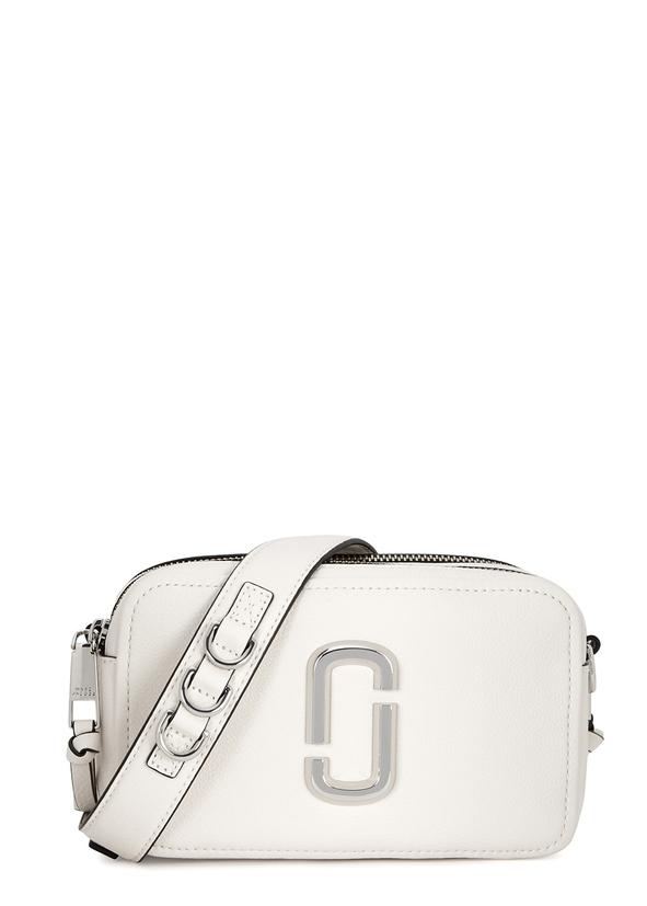 Softshot 21 white leather shoulder bag ... 2709a38e26