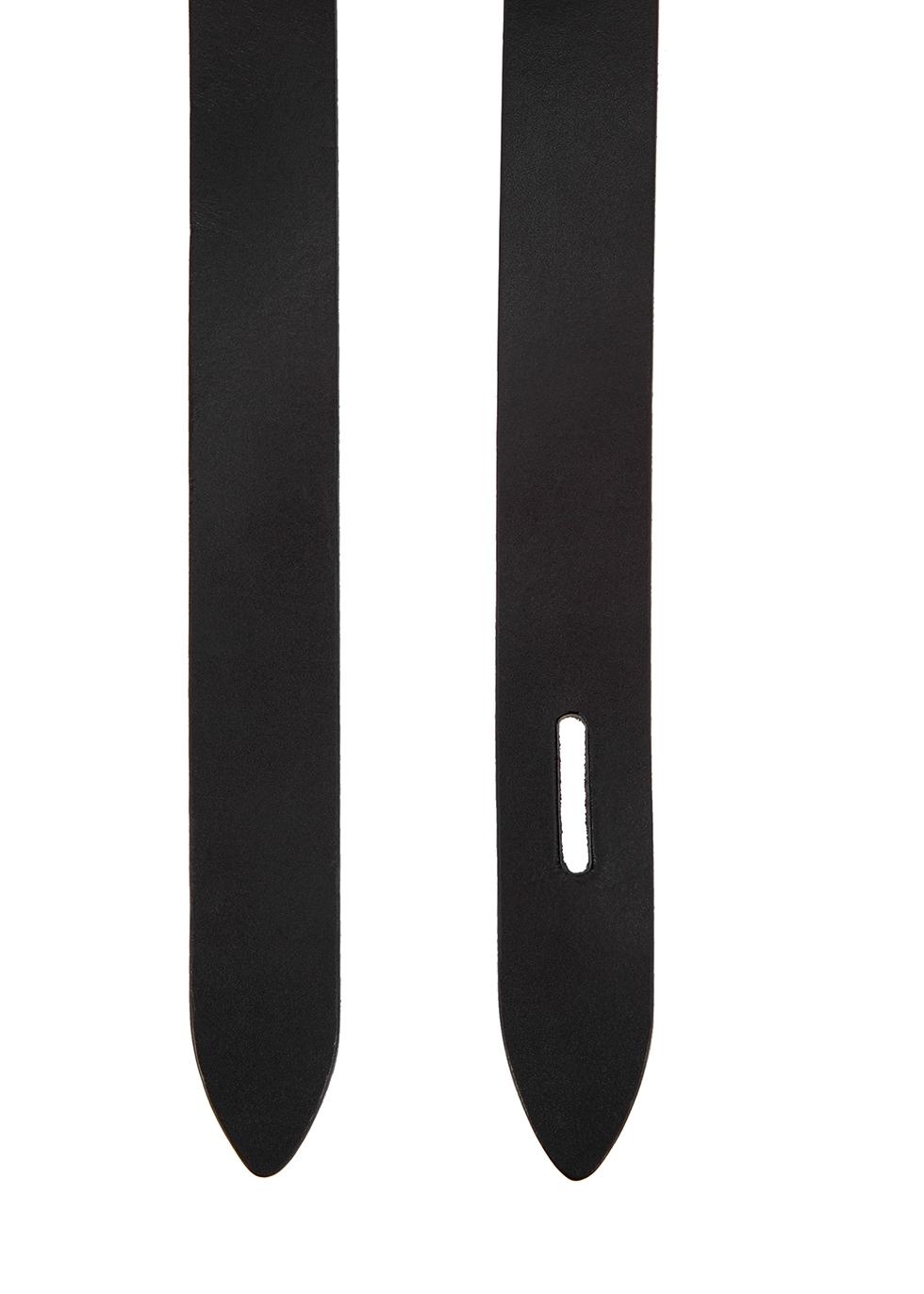 Lecce black leather belt - Isabel Marant Étoile