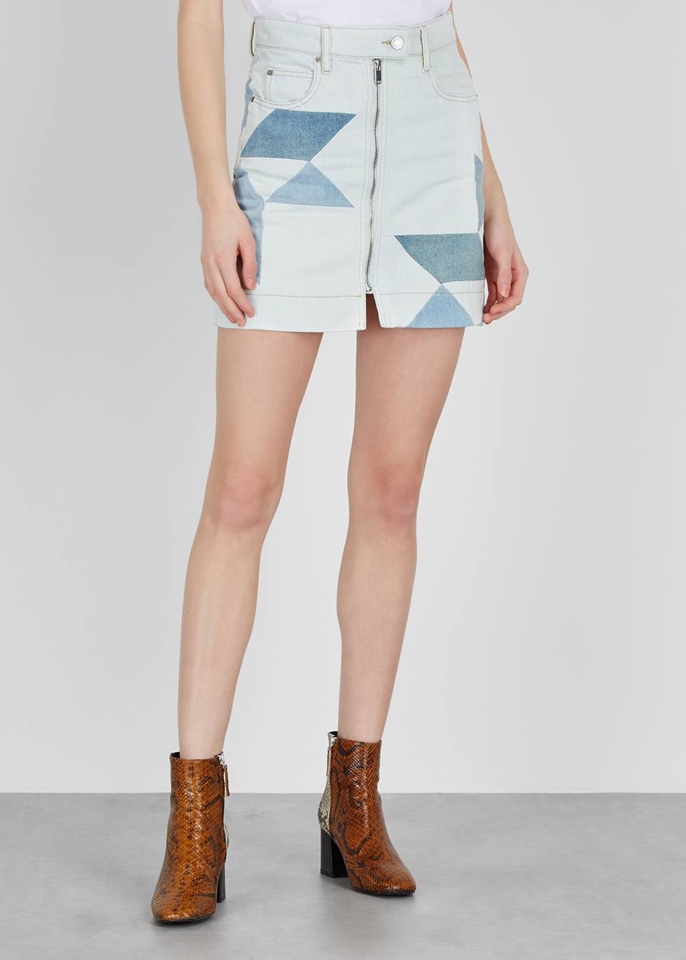 Lioline denim mini skirt - Isabel Marant Étoile