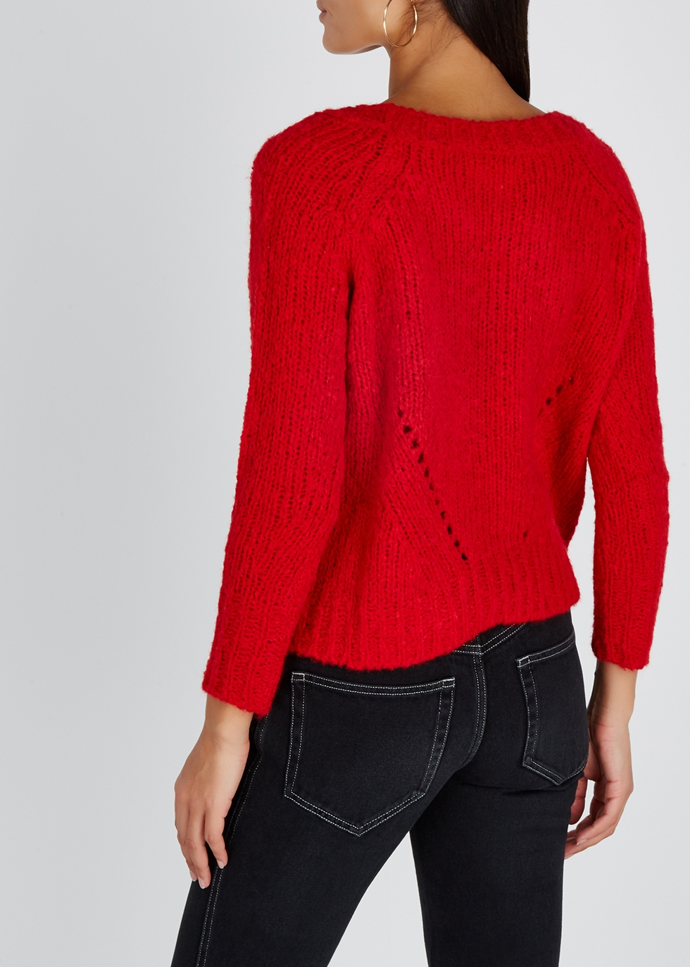 Shields red knitted jumper - Isabel Marant Étoile