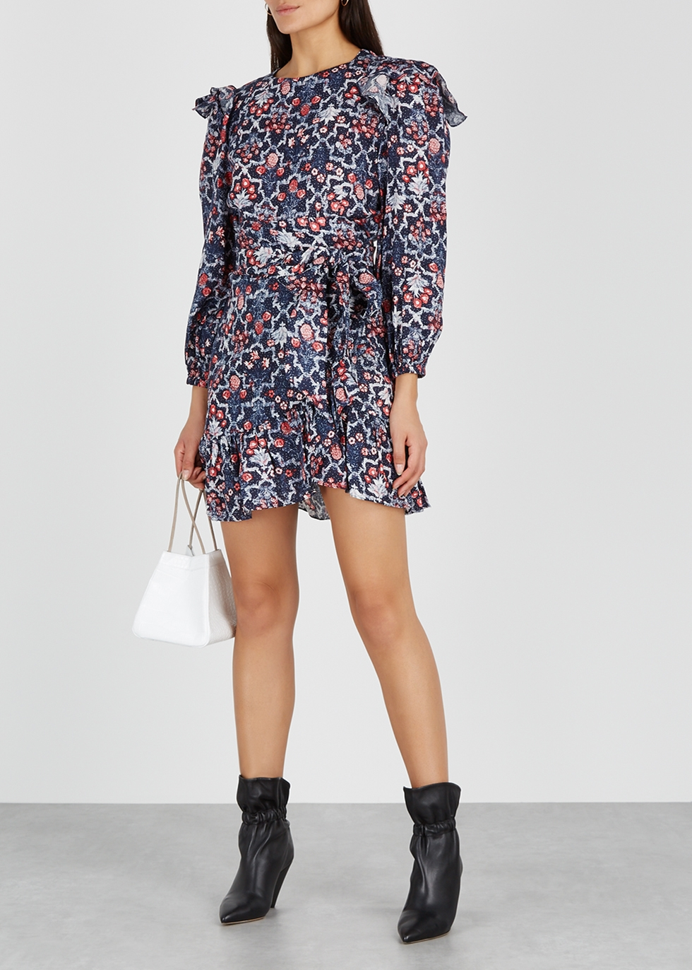 Telicia printed linen mini dress - Isabel Marant Étoile