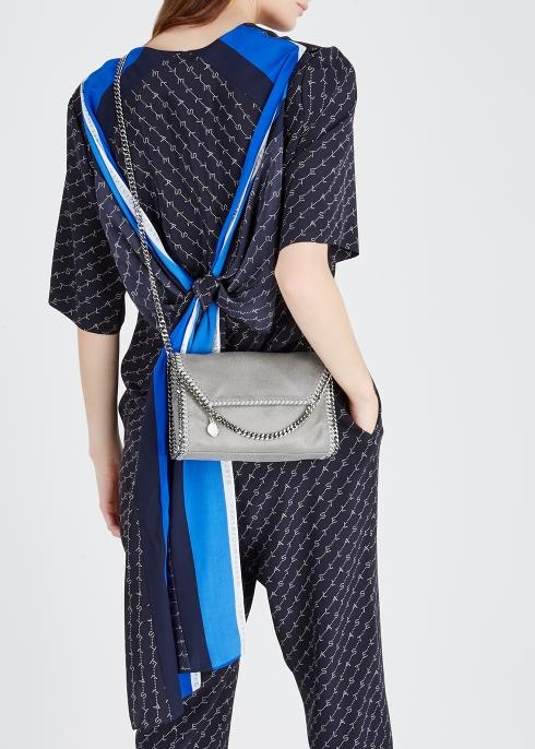f0e9b1d1b776 Stella McCartney Falabella mini faux suede shoulder bag - Harvey Nichols