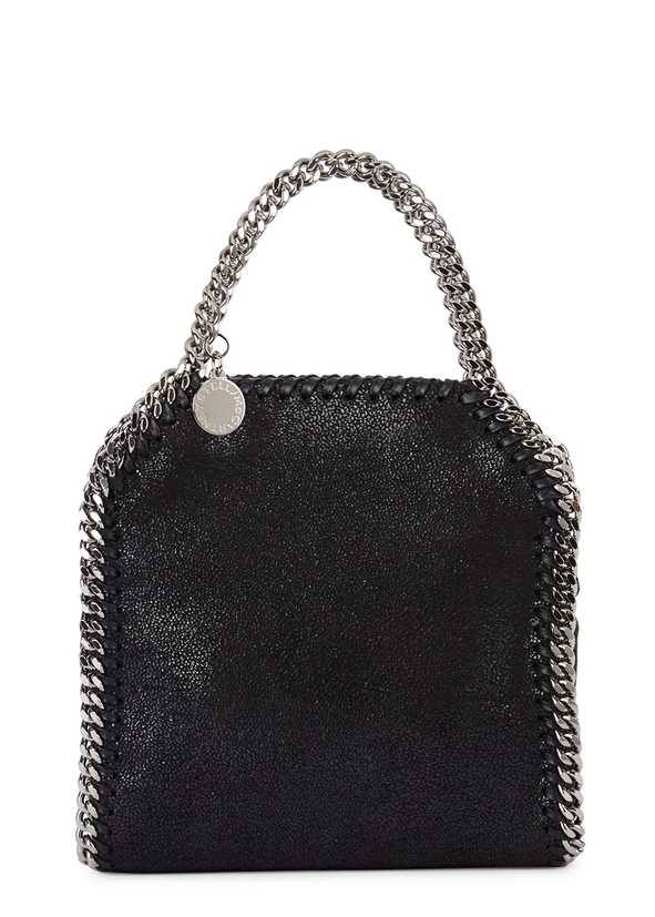 Stella McCartney. Falabella mini black faux suede tote. £610.00 · Falabella  tiny black faux-suede tote ... 117e338019