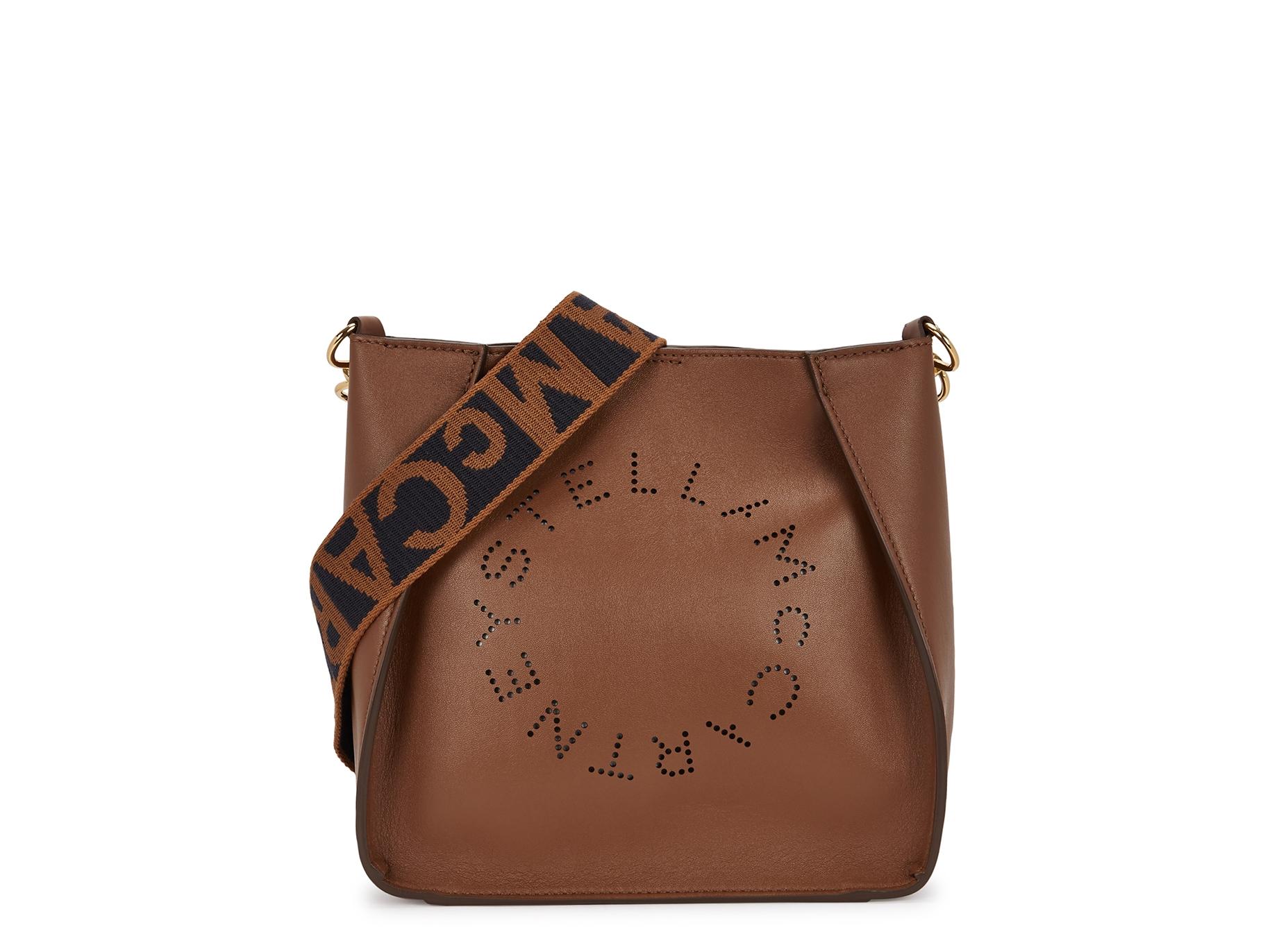 Stella McCartney Stella Logo small faux leather cross-body bag ... 45eac15f31