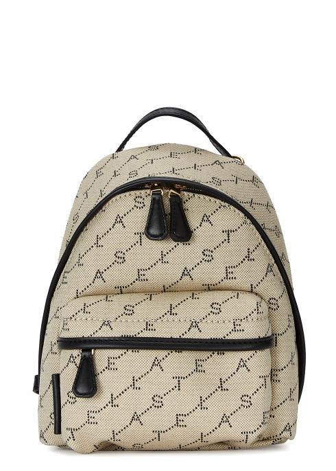 Stella McCartney Stella logo mini backpack - Harvey Nichols 8c5bae84f7