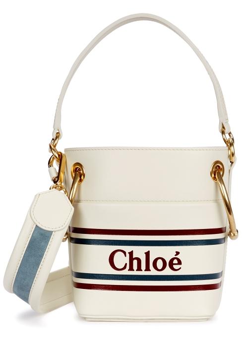 Chloé Roy cream leather bucket bag - Harvey Nichols a6de235510d30
