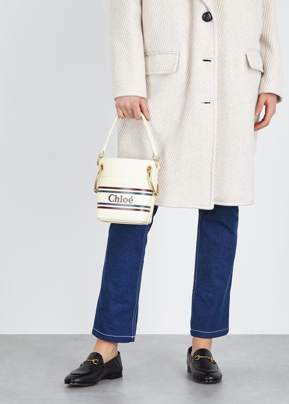 Roy cream leather bucket bag Roy cream leather bucket bag. New Season. Chloé 5c74fefdf8087