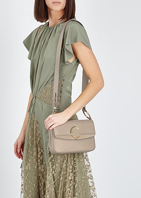 54661af3 Chloé Chloé C small leather shoulder bag - Harvey Nichols