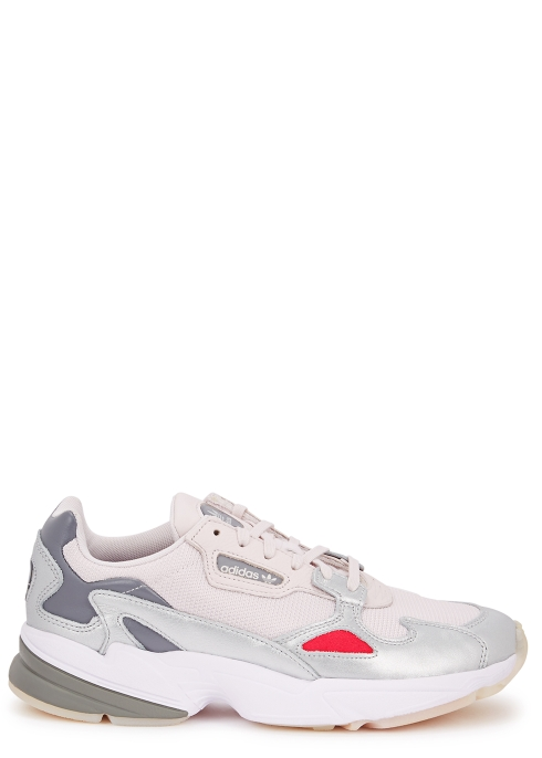 Adidas Originals Falcon Pale Pink Panelled Trainers Harvey Nichols