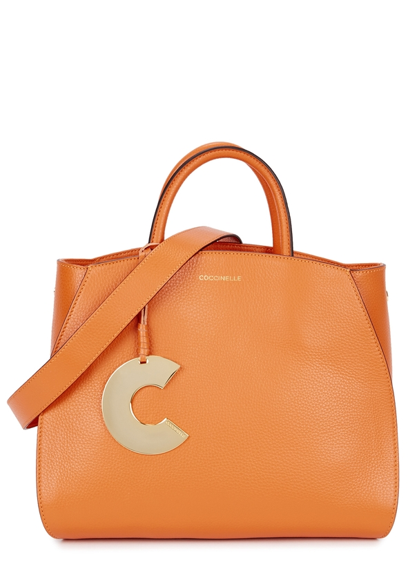 0f788cf14ca Concrete small leather top handle bag ...