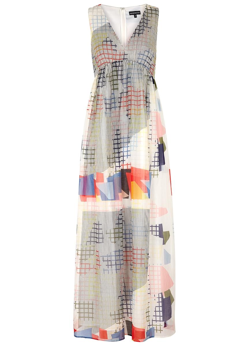 d51853aa96c Emporio Armani Printed Dresses - Womens - Harvey Nichols