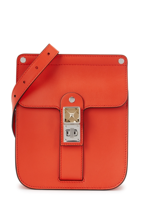 8bf2abbb92c7 Proenza Schouler PS11 red leather shoulder bag - Harvey Nichols