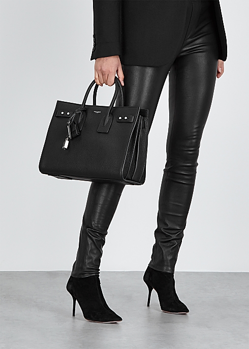 1d8b56d8cb Saint Laurent Sac Du Jour small leather tote - Harvey Nichols