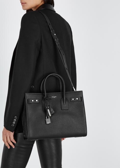 79c38eafc11f Saint Laurent Sac Du Jour small leather tote - Harvey Nichols