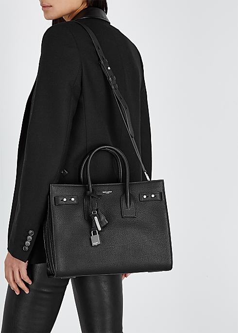 1aef353f60d Saint Laurent Sac Du Jour small leather tote - Harvey Nichols