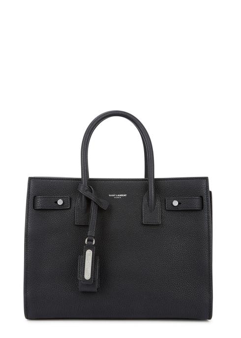 4111ae34f151 Saint Laurent Sac Du Jour Baby leather top handle bag - Harvey Nichols