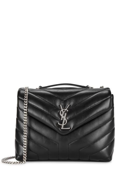 5208f6fece4c Saint Laurent Loulou small leather shoulder bag - Harvey Nichols