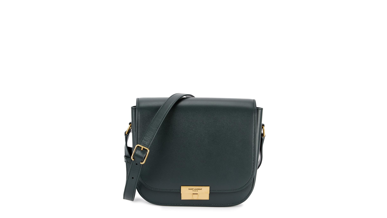 203d3a16b1 Saint Laurent Betty charcoal leather shoulder bag - Harvey Nichols