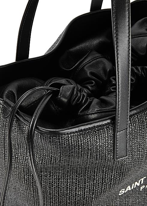 5c0ca90d96 Saint Laurent Teddy canvas and leather tote - Harvey Nichols