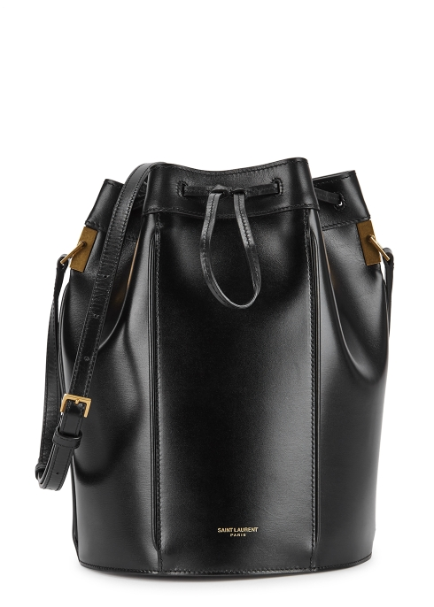 6b1d6badfef9 Saint Laurent Talitha medium leather bucket bag - Harvey Nichols