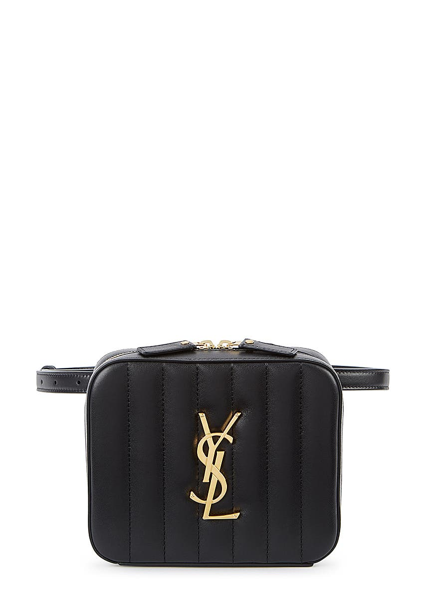 26d2ed73f Vicky black leather belt bag ...