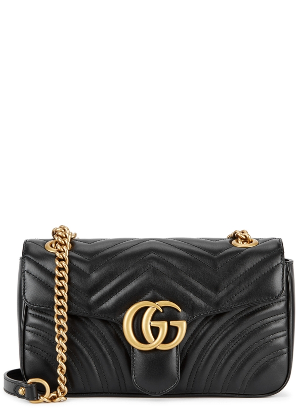 GG Marmont small leather shoulder bag ...