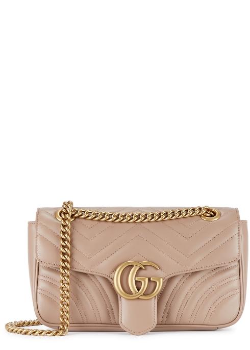 6280a754c57 Gucci GG Marmont small leather shoulder bag - Harvey Nichols