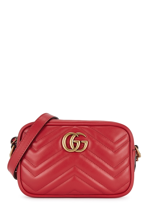 2fe988c1b5b Gucci GG Marmont mini leather cross-body bag - Harvey Nichols