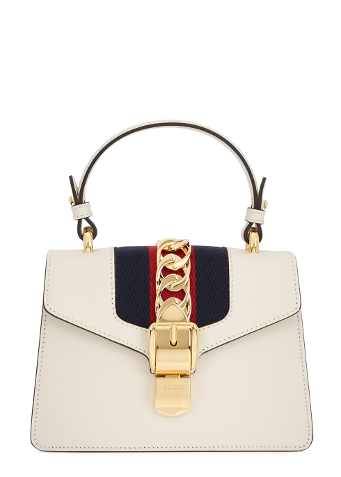 1d397df8240 Gucci Sylvie mini cream cross-body bag - Harvey Nichols