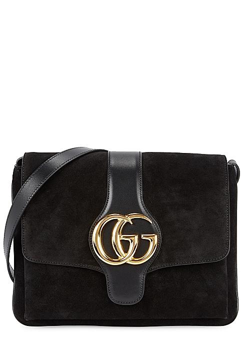 7590a1b9d4a8 Gucci Arli medium suede shoulder bag - Harvey Nichols