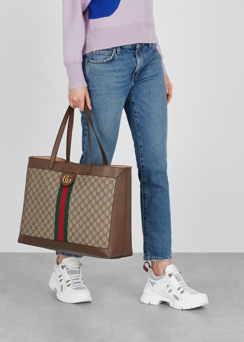 46cd9ada19ac Ophidia GG monogrammed tote - Gucci