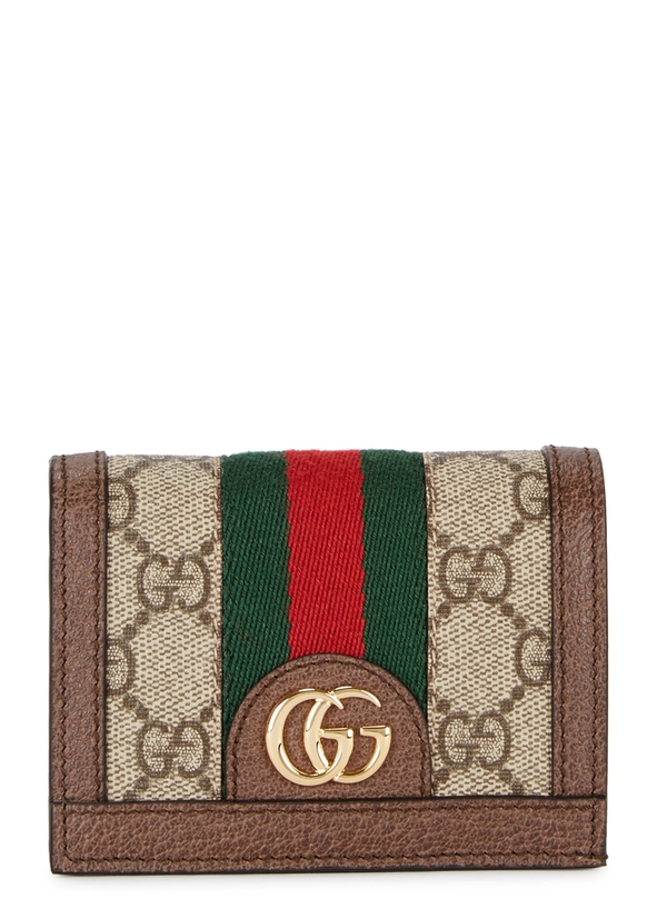 Ophidia GG monogrammed wallet