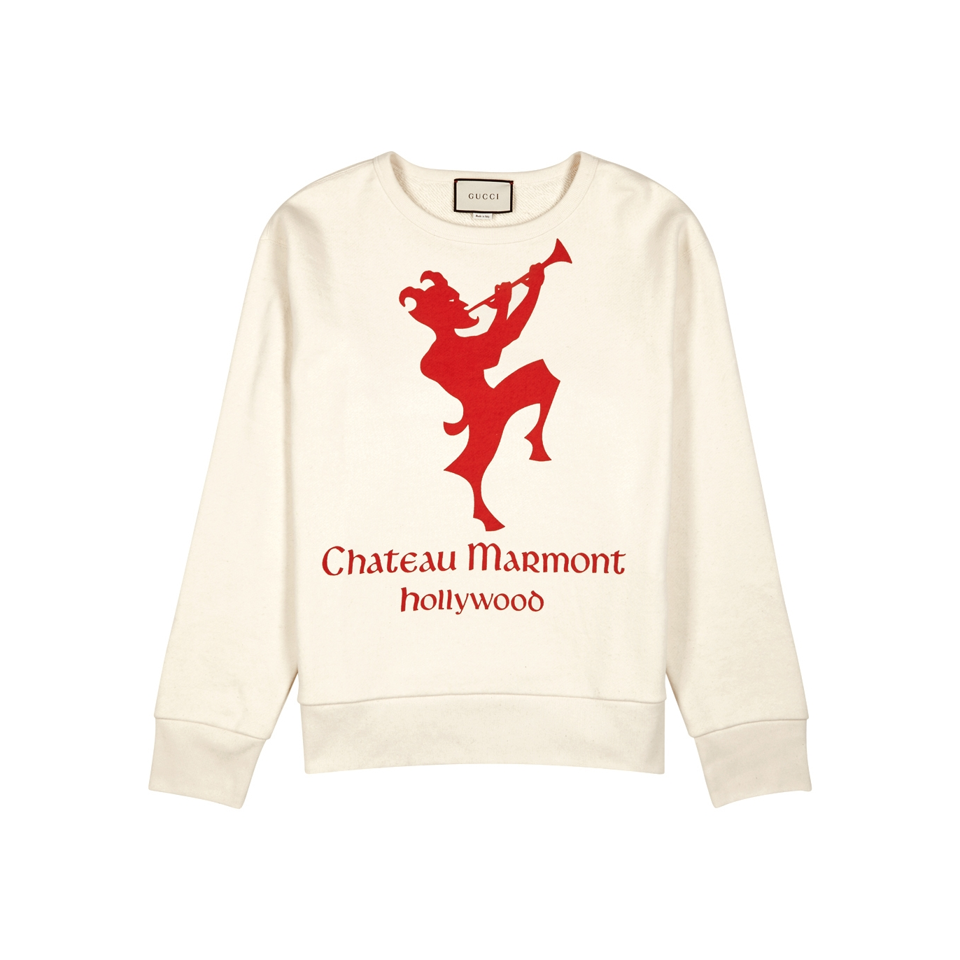 66dc98acc61 Gucci Marmont printed cotton sweatshirt - Harvey Nichols