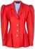 Red puff-sleeves blazer - Anna October