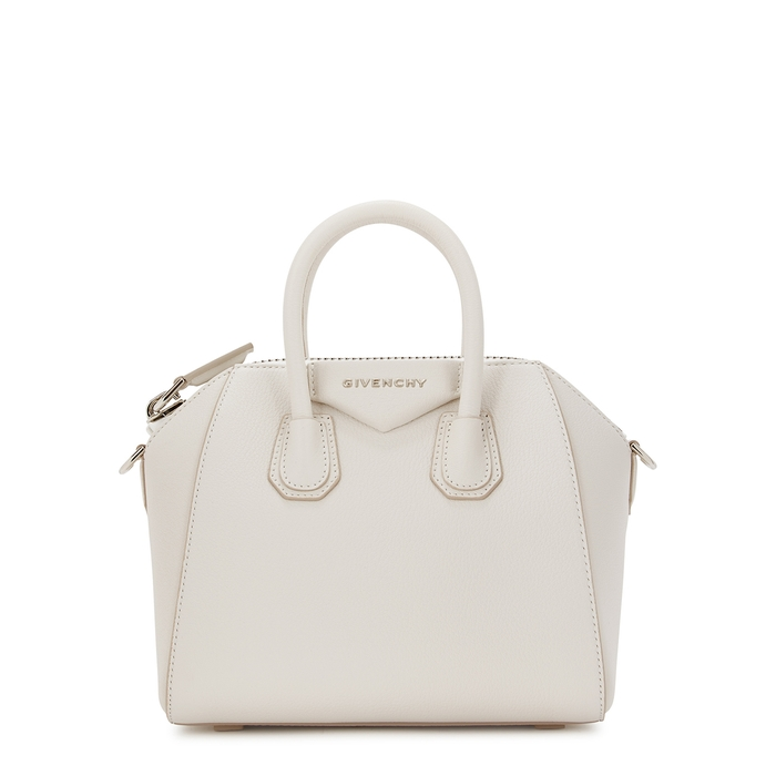 dbadf94e48 Givenchy Antigona Mini White Leather Top Handle Bag