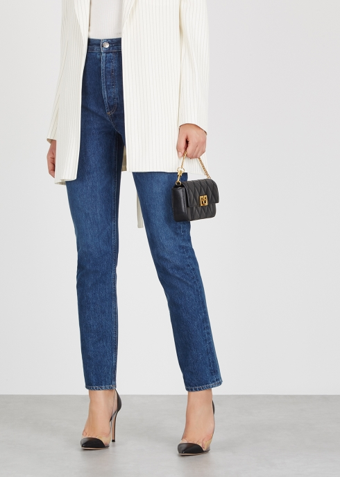 Givenchy GV3 mini leather cross-body bag - Harvey Nichols 72a521328e178