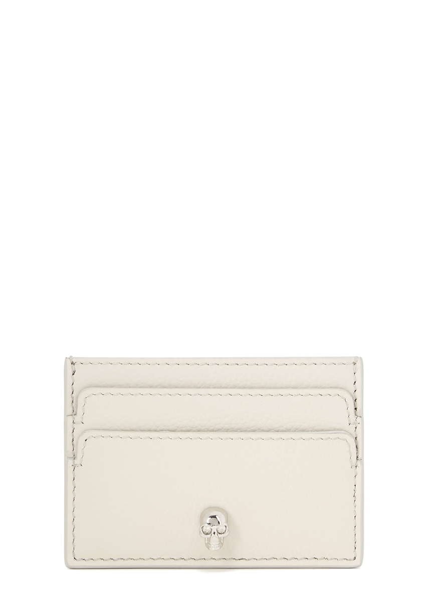 e3e47be27bd Monogram ecru leather wallet. £300.00 · Off-white leather card holder