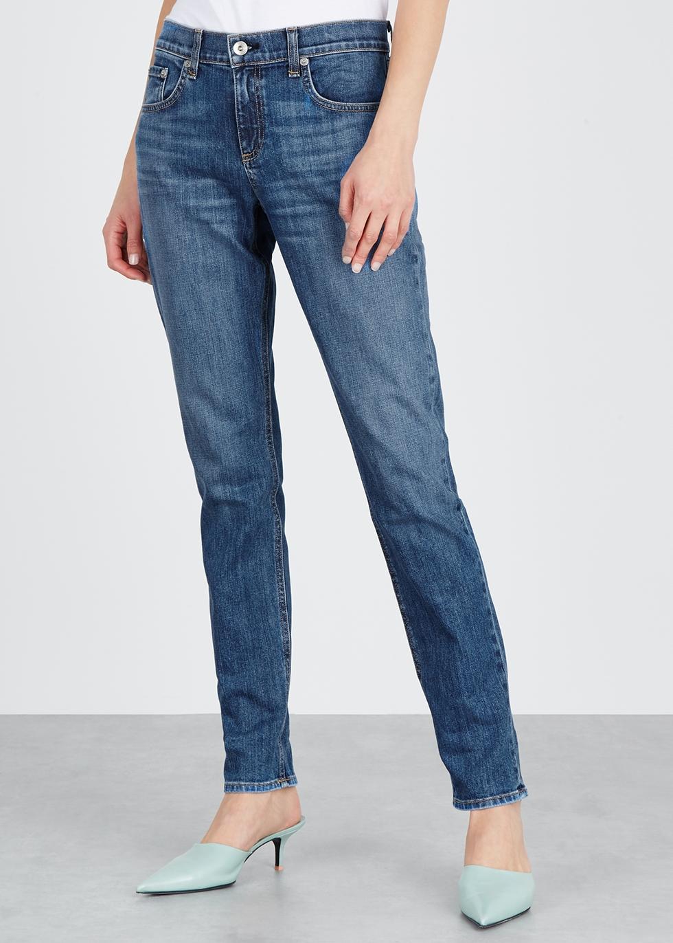 Dre blue slim-leg jeans - rag & bone