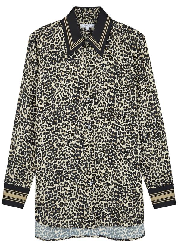 faa36abab4 Bradner leopard-print satin shirt Bradner leopard-print satin shirt. New  Season. Equipment