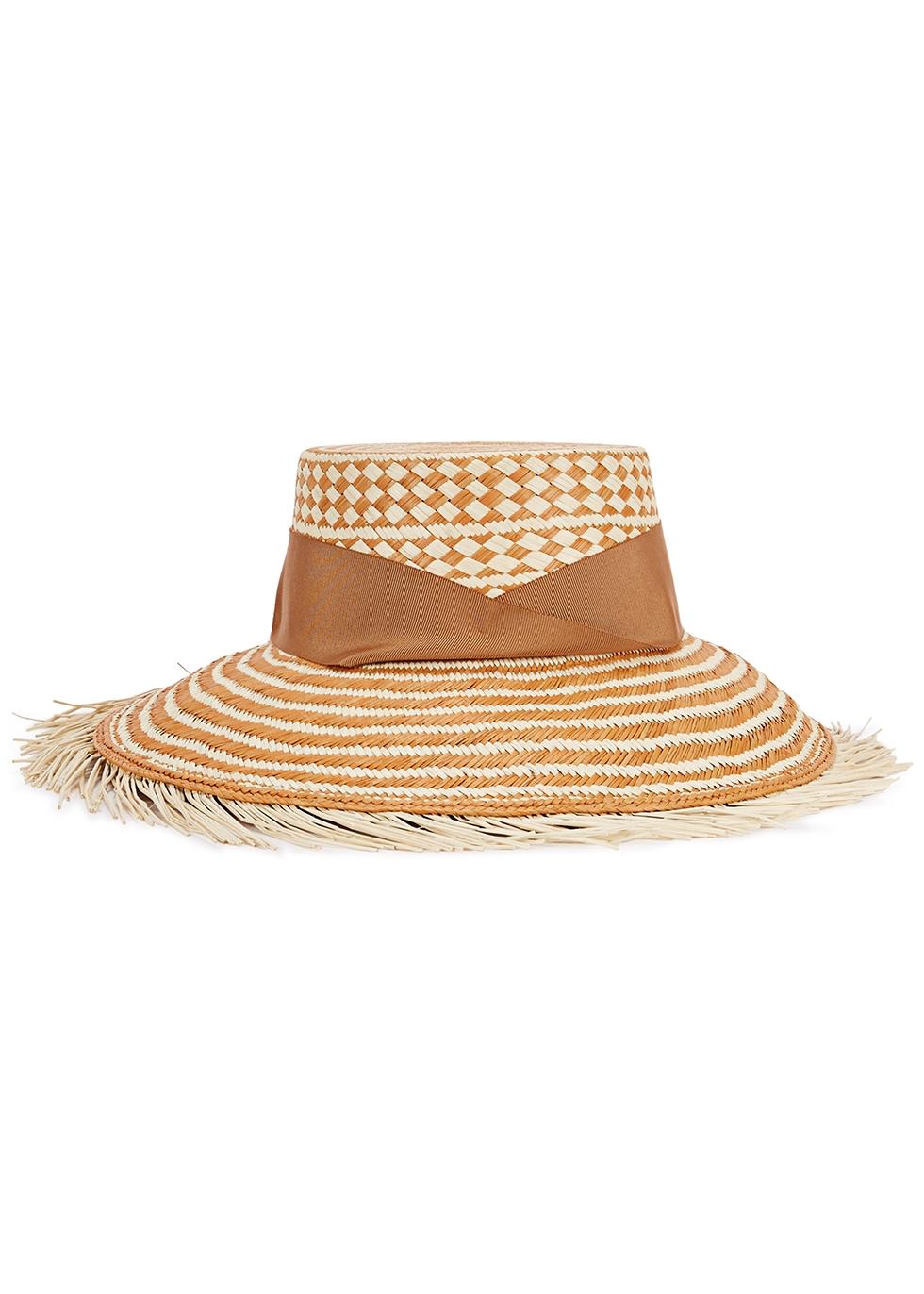 Hippie straw Panama hat - Sensi Studio