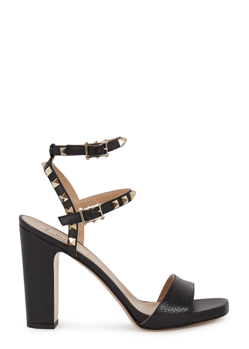 e749194891c Valentino Garavani Rockstud 105 leather sandals - Harvey Nichols