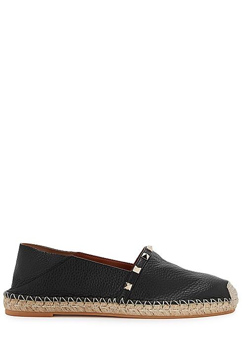 903d1b66ab71d Valentino Garavani Rockstud leather espadrille pumps - Harvey Nichols