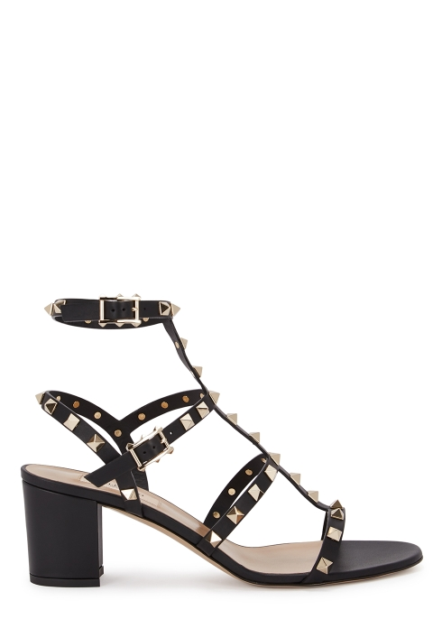 dcce26395df6 Valentino Garavani Rockstud 60 leather sandals - Harvey Nichols