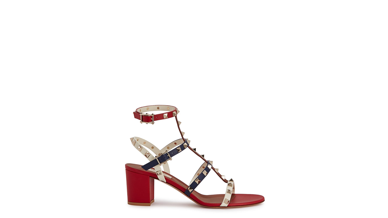 d7e6252ba1a5 Valentino Garavani Rockstud 60 leather sandals - Harvey Nichols