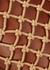 Moreau brown leather bucket bag - STAUD