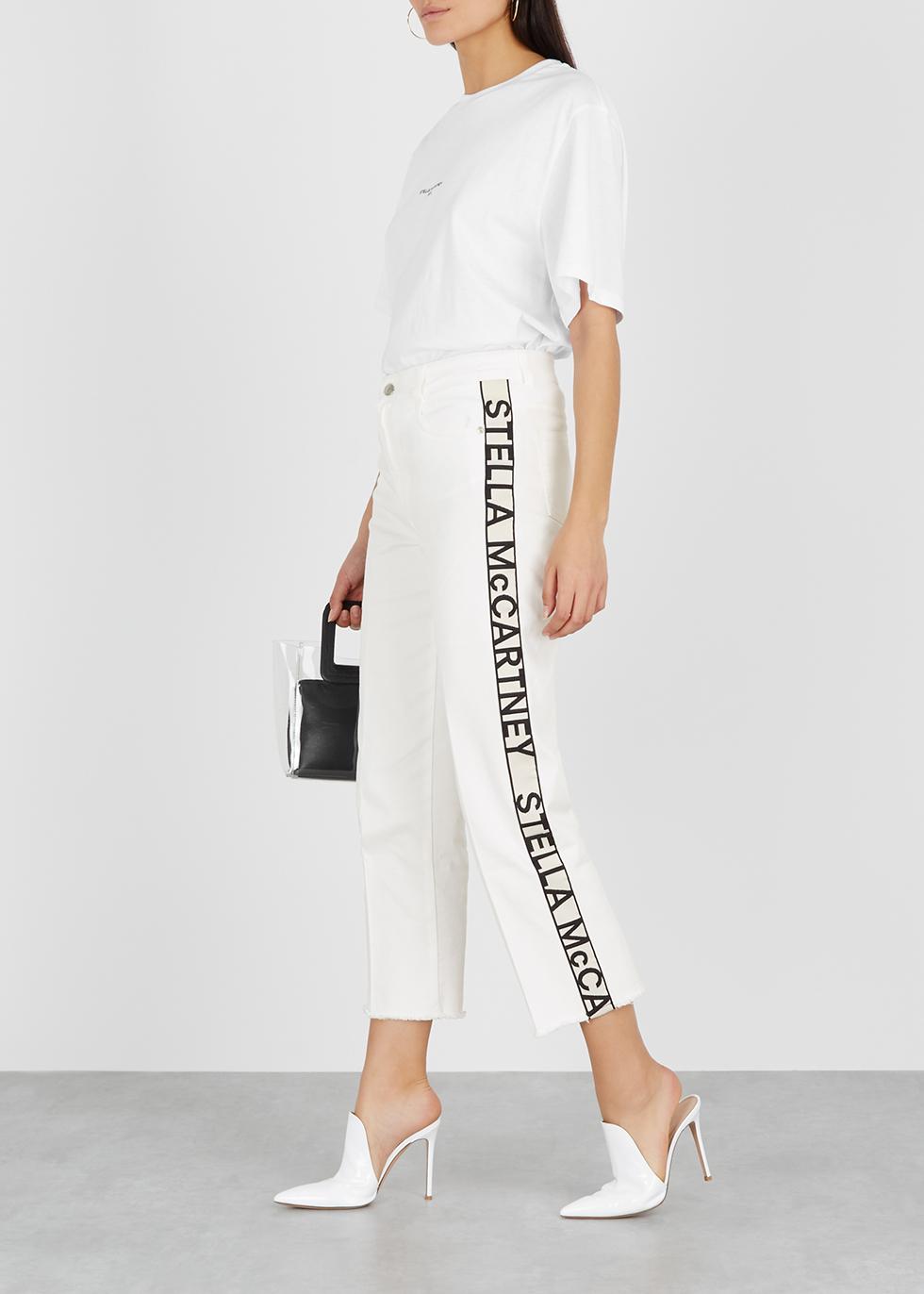 a0fa27d94a6c Stella McCartney X adidas Stan Smith faux leather trainers - Harvey Nichols