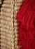 Maldives medium straw basket bag - NANNACAY