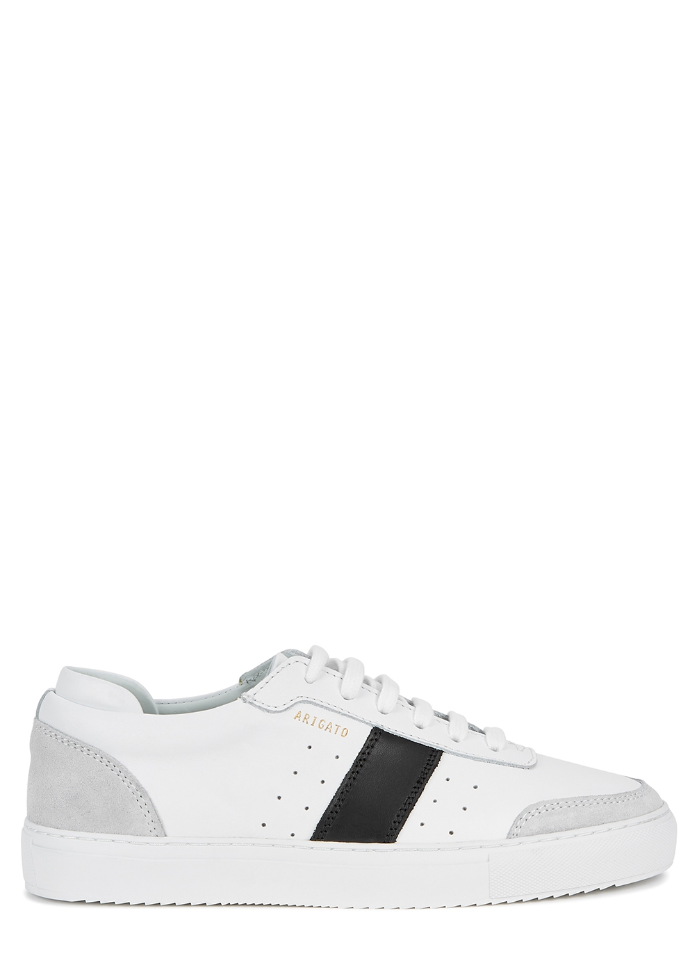 Dunk white leather sneakers